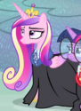 Princess Cadance wizard ID S4E11