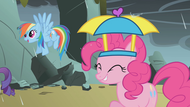 File:Rainbow and Pinkie rained on by dragon tears S1E07.png