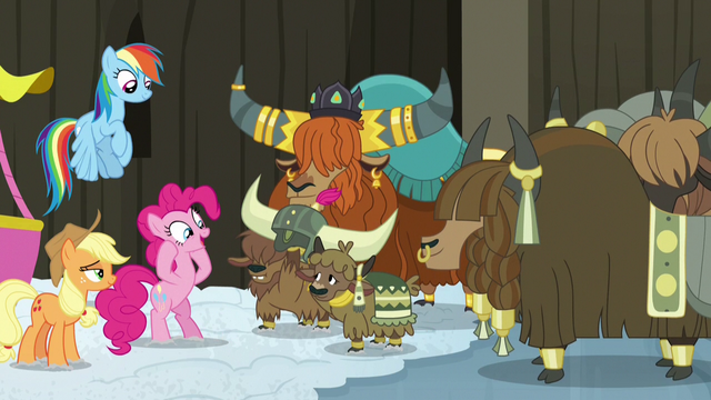 File:Yaks present Pinkie Pie with honorary yak horns S7E11.png