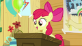 Apple Bloom at the podium S5E04.png