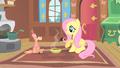 Fluttershy serves Philomena soup S01E22.png