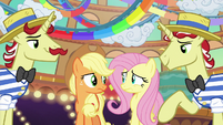 Applejack and Fluttershy having second thoughts S6E20