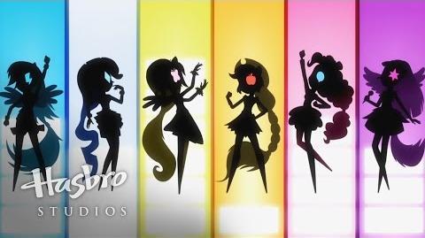 """MLP Equestria Girls - Rainbow Rocks - """"Shine Like Rainbows"""" Music Video"""