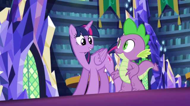 File:Twilight and Spike ready to go EG2.png