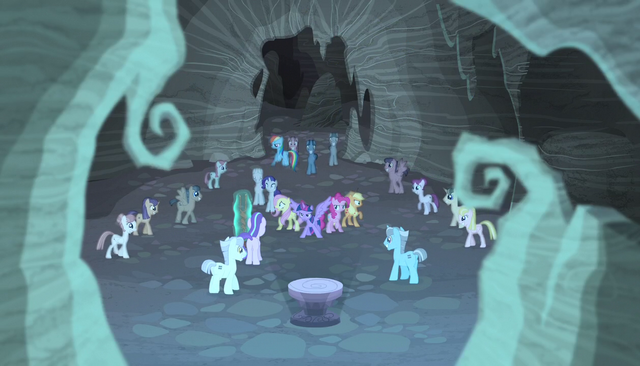 File:More zombie ponies surround the mane six S5E1.png