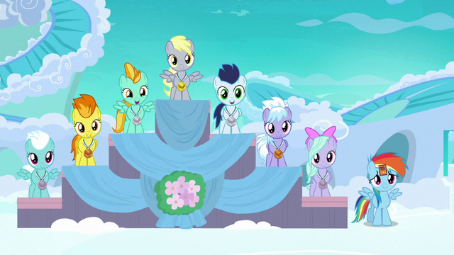 File:Filly Rainbow in last place at award ceremony S7E7.png