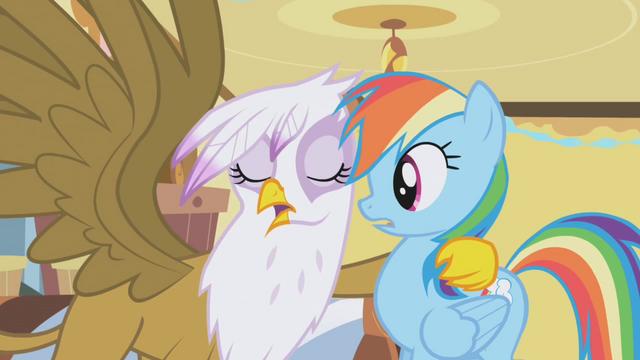File:Gilda hugs Rainbow Dash S1E05.png