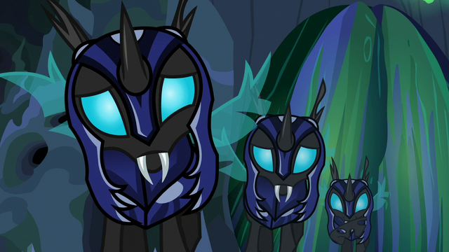 File:Changelings in varying degrees of confusion S6E26.png