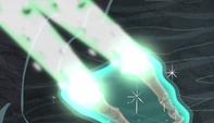 Staff of Sameness fires bolt of magic S5E1