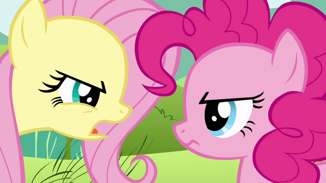 File:Fluttershy insults Pinkie's passion for parties S2E19.png
