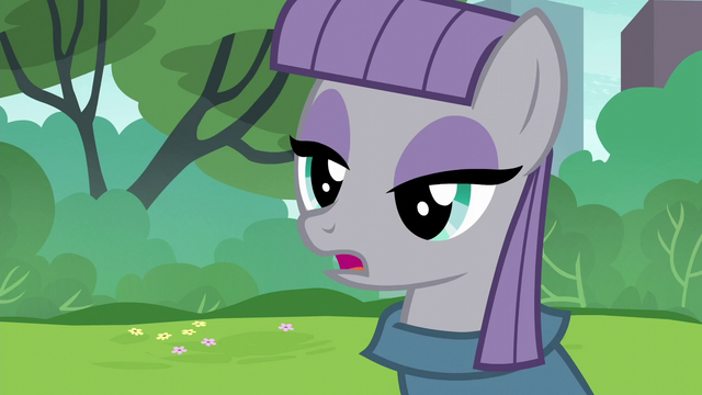 """File:Maud Pie """"little pieces of cupcake-scented paper"""" S6E3.png"""