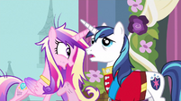 Princess Cadance overjoyed S2E26