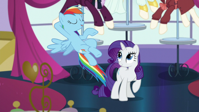 """File:Rainbow """"hang out with the Wonderbolts"""" S5E15.png"""