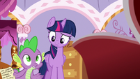 "Spike ""how in Equestria did you get back?"" S6E22"