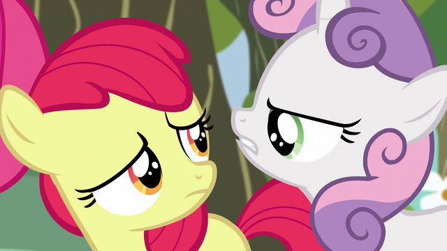 "File:Sweetie Belle ""we certainly don't have time"" S5E4.png"