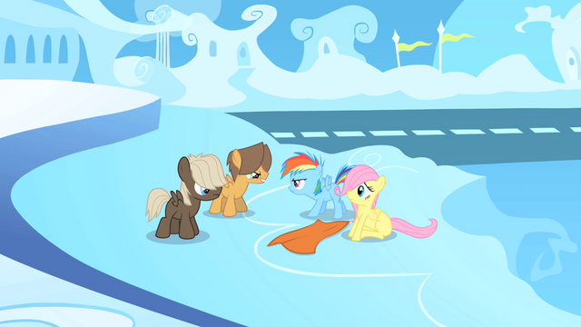 File:Filly Rainbow defending Fluttershy S1E23.png