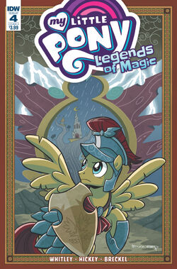 Legends of Magic issue 4 cover A
