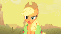 "Applejack ""Oh yeah... about what?"" S1E21"