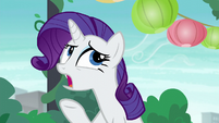 "Rarity ""suspenseful and compelling story"" S6E3"