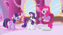 Rarity question face S2E20