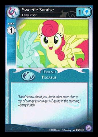 File:Sweetie Sunrise, Early Riser card MLP CCG.jpg