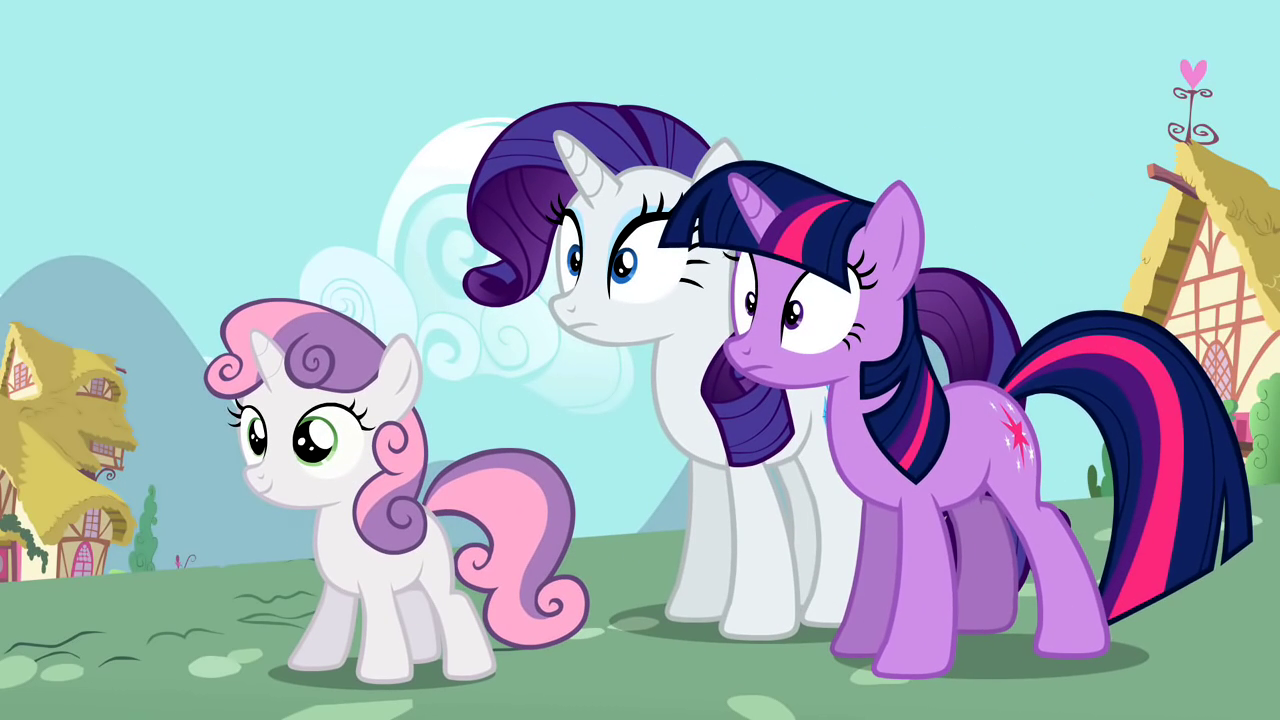 My little pony rarity and sweetie belle - photo#50