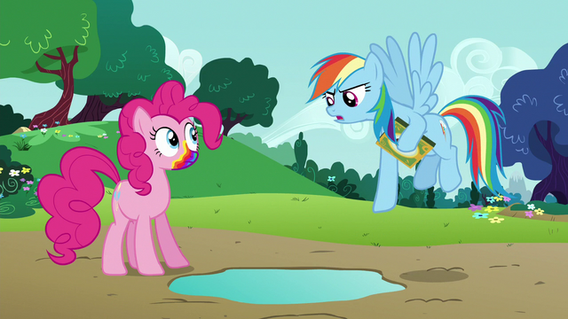 "File:Rainbow Dash ""this prank is happening"" S6E15.png"