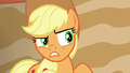 Applejack doesn't trust Flim and Flam S6E20.png