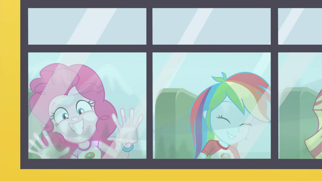 File:Pinkie Pie and Rainbow riding the CHS bus EG4.png