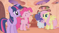 Pinkie Pie is on board with the plan S1E09