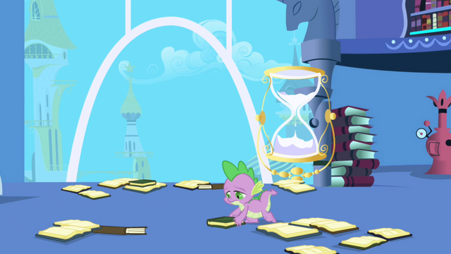 File:Spike picking up books S1E01.png