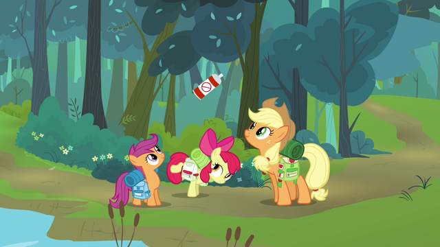 File:Apple Bloom showing the bug spray S3E6.png