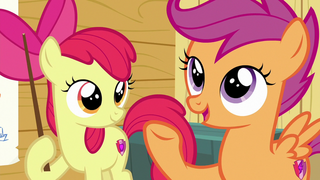 File:Scootaloo asks Gabby what she's good at S6E19.png