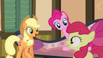 "Applejack calls Bloom the ""playful one"" S4E09"