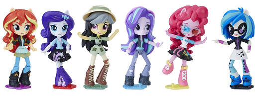 Equestria Girls Minis Movie Collection set