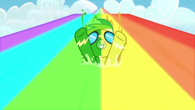 File:Rainbow Dash covered in green and yellow water S7E7.png