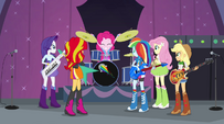 Pinkie Pie about to count off 'Shine Like Rainbows' EG2