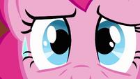 Pinkie Pie face sweat rolling down S3E3