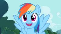 Rainbow Dash big smile 02E07