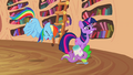 Rainbow laughing at Spike eating ice cream S2E20.png