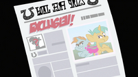 Snips and Snails on the newspaper S2E23