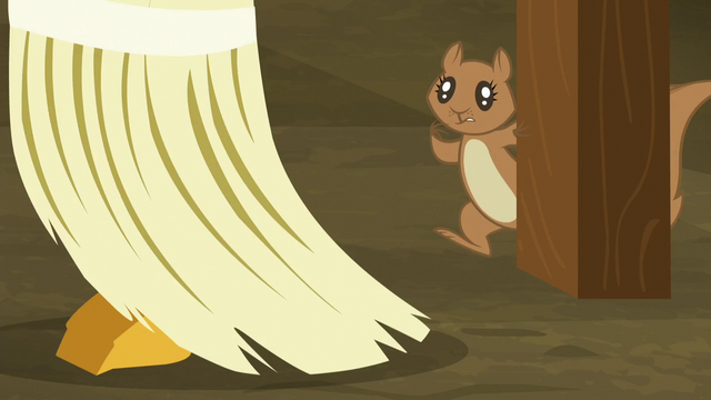 File:Squirrel watches pumpkin chunk get swept up S5E23.png