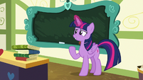 "Twilight Sparkle ""there, all clean"" S7E3"