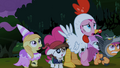 Pinkie Pie and foals backing up S2E04.png
