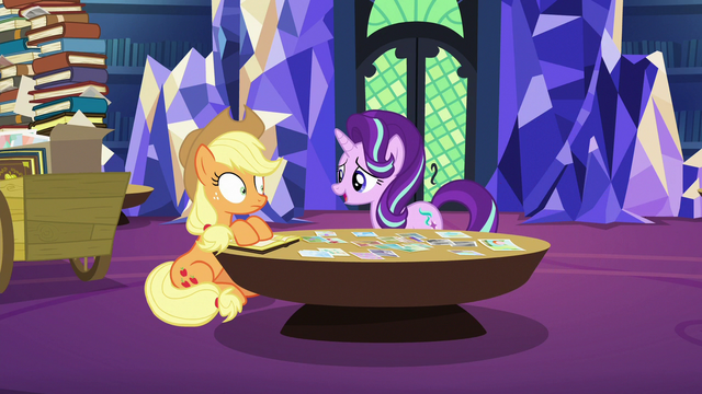 """File:Starlight Glimmer """"keep putting these photos"""" S6E21.png"""