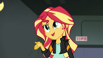 "Sunset Shimmer ""you ARE awesome"" EG3"