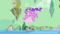 """""""Screwball"""" floats by grey Twilight on the street S2E02.png"""