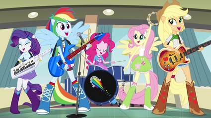 Rainbooms ponified during Better Than Ever EG2.png