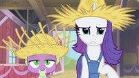 "Rarity ""is this some kind of joke"" S4E13"