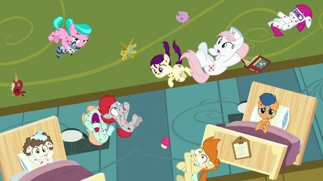 File:Redheart and foals released from Flurry's magic S7E3.png